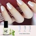 Pure White and Black Colors Manicure UV Gel Nail Art Tips form Gel Polish DIY Nail Tools Nail Arts Gel Nail Polish with Glitter