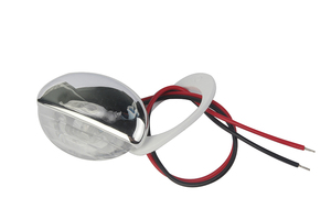 Image 4 - 1Piece White Marine Boat LED Electroplate Corridor Downstair Light for 12V Vehicles RV