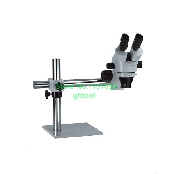 Vente chaude Jewelry Making Outils Goldsmith Outils 7X-45X Diamant Réglage Microscope avec Support Montre Reparing Microscope bijoux à