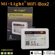 New 2.4G Wireless iBox2 Smart WiFi LED Controller for all Mi.Light 2.4G LED Light Bulb Lamp Controller Support iOS Android APP
