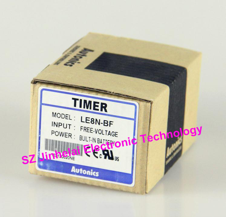 100% New and original LE8N-BF AUTONICS Time relay Small LCD timer