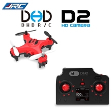 New Arrive RC JJRC DHD D2 Mini 2MP Camera 2.4GHz 4 Channel 6 Axis Gyro Quadcopter 3D Rollover RTF Version