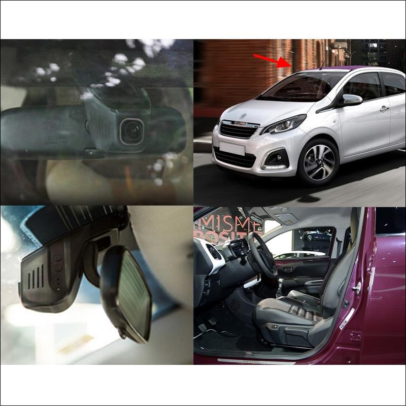 BigBigRoad For Peugeot 108 Car wifi DVR Video Recorder hidden installation Novatek 96655 car black box Car Dash Cam FHD 1080P for bmw 3 bmw3 serie 318i 2016 car dvr car video recorder hidden installation novatek 96655 wifi car black box hd 1080p