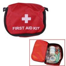Аптечка 0.7L красный ПВХ на открытом воздухе Кемпинг аварийный выживания пустой мешок повязку лекарств водонепроницаемый мешок для хранения