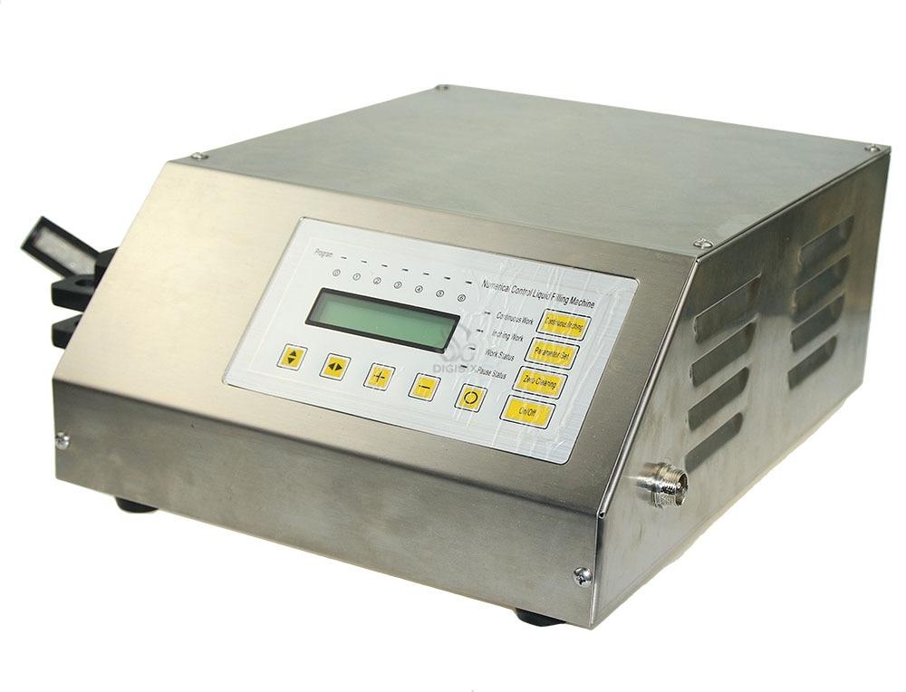 Macchina di rifornimento liquida di controllo digitale GFK-160 di trasporto libero / piccola macchina di rifornimento di acqua liquida elettrica portatile