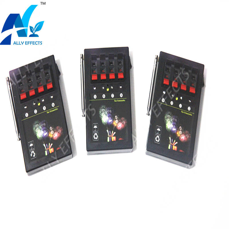 AM04R-3 Remote Control 12 Channel 3pcs 4 Cue Receiver Fire Wedding Machine Fireworks Firing System