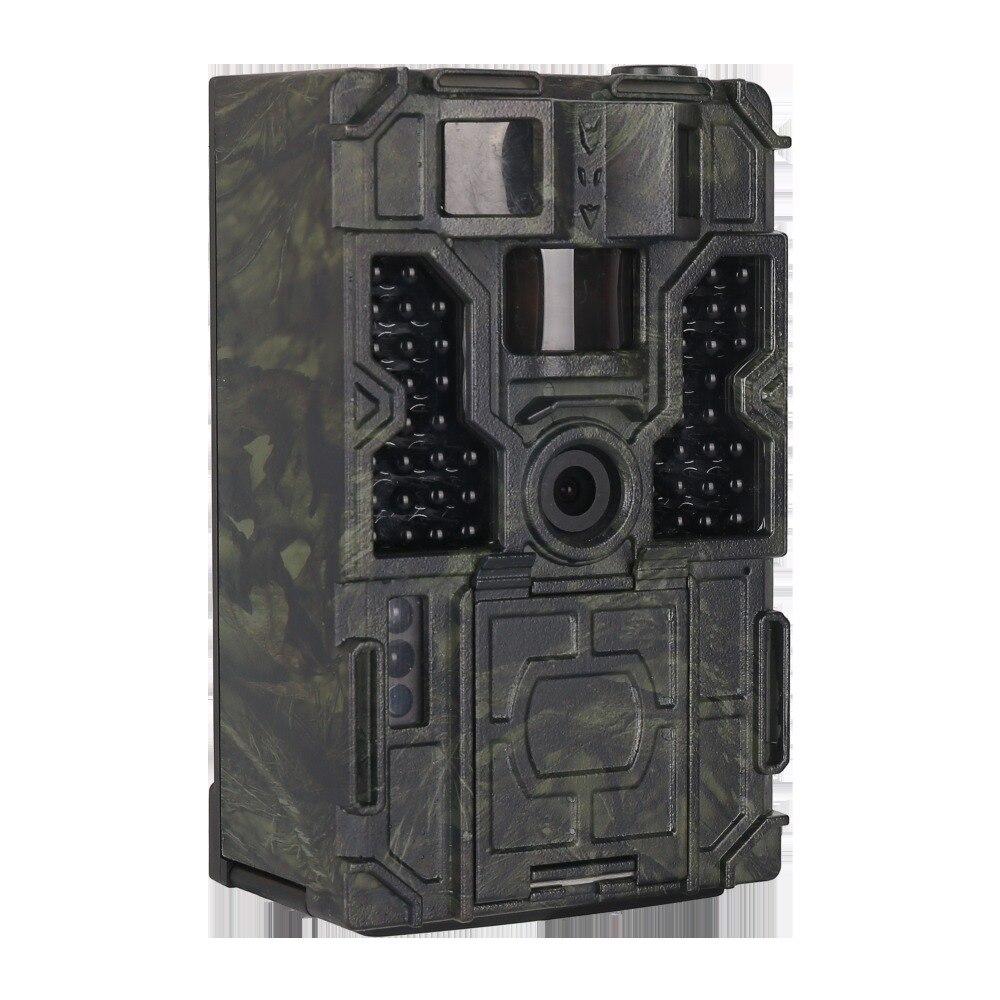 1080 p caméra de chasse piège caméra de sentier numérique capteur HD PIR 120 degrés 32 GB IR 48 pièces led caméra sauvage dispositif de sentier extérieur