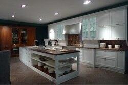 Классические лучшие продажи кремового цвета кухонные шкафы (LH-SW066)