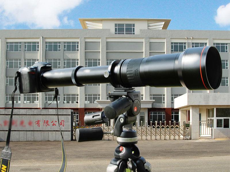 цена на JINTU 650-1300mm f/8-16 Supper Telephoto Zoom Lens for Nikon D3200 D3300 D3400 D5100 D5200 D5300 D5500 D7500 D7200 Camera Black