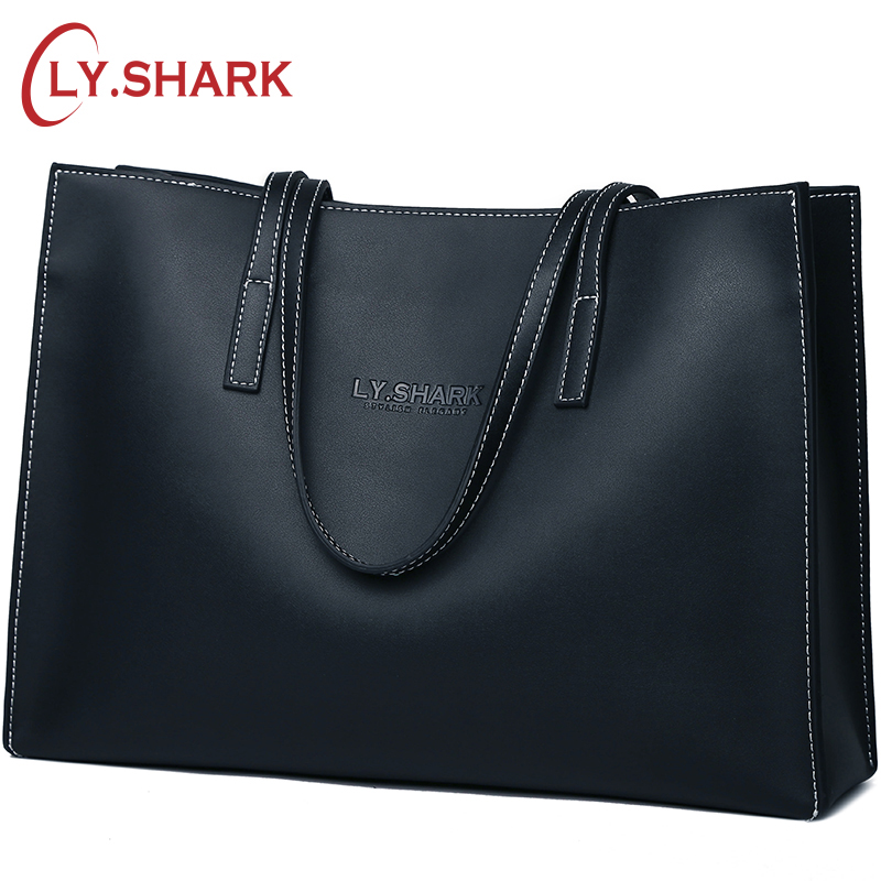 LY SHARK Women s Over the shoulder Bags Ladies Genuine Leather Handbag Shoulder Bag Female Luxury