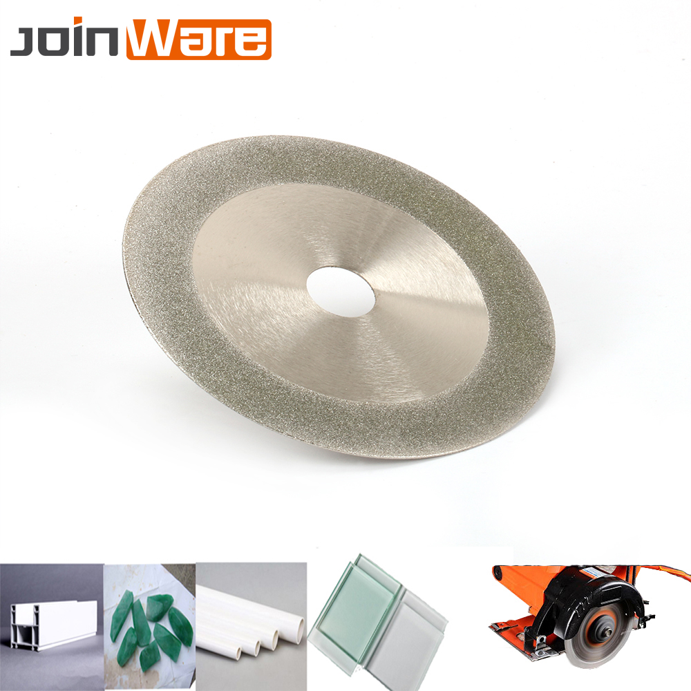 180mm 7'' Diamond Circular Saw Blade Electroplated Cutting Disc Grinding Wheel For Jade Jewlery Glass PVC Pipe New