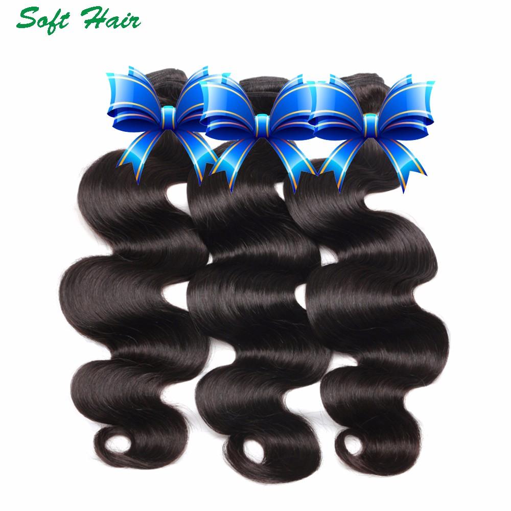 wet and wavy soft hair indian virgin human hair bundles body wave 73