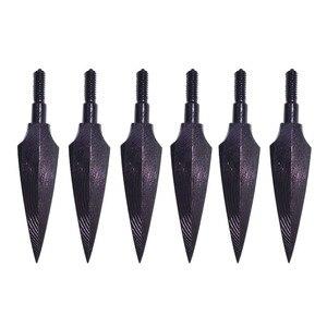 Image 2 - 12PcsยิงธนูArrowheads Broadheadsแบบดั้งเดิม150 Grianสกรูลูกศรหัวโบว์Arrowการล่าสัตว์กลางแจ้งอุปกรณ์เสริม