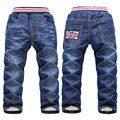 New 2016 Baby Girls Jeans Pants 3-7Yrs Kids Trousers Brand Children Clothing High quality Winter Autumn Warm Casual Boys Clothes