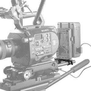 Image 5 - SmallRig DSLRกล้องRig 15Mm Rail Rod 15Mm RailBlockสำหรับVideoติดตามFocus Rigแผ่นแบตเตอรี่แนบ2061