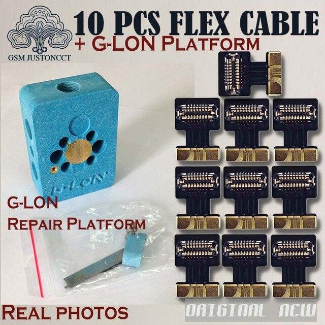 sports shoes 5cc7f 8d955 G-Lon iMesa Touch ID Fingerprint Repair Platform with Flex Cable for fixing  iPhone 7 7plus 8 8plus Home Return Button Failure