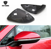 1:1 Replace Style For Volkswagen for VW Golf 7 MK7 R Gti for VW Golf 6 GTI R20 for VW Golf 5 Carbon Fiber Rear View Mirror Cover