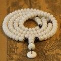 Tibetano Mala Bodhi raíz 108 granos de rezo budista Mala Bodhi Mala