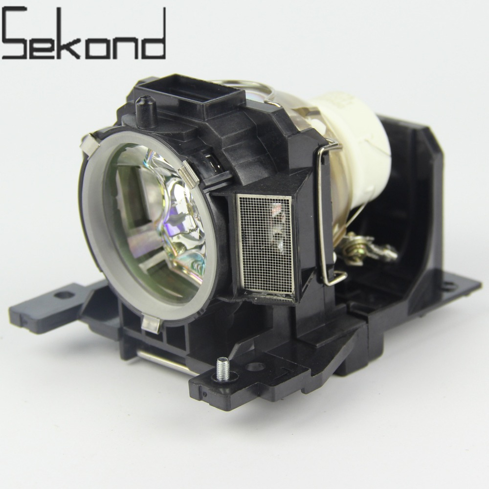 SEKOND Original USHIO Bulb DT00893 Projector Lamp with Housing For Hitachi CP-A52 ED-A101 ED-A111 CP-A200 кукла famosa нэнси и ее маленький питомец 3 в ассорт