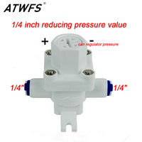 RO Water Purifier Parts Water Pressure 1 4 Inch Plug In Connection Regulator Valve Reducing Pressure