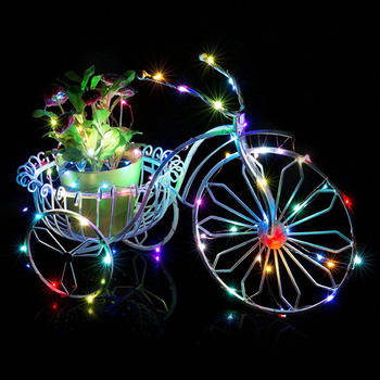 1M Holiday Lighting String Fairy Light 10 LED Battery Operated Xmas Lights Party Wedding Lamp CN Good Romantic Christmas Gift image