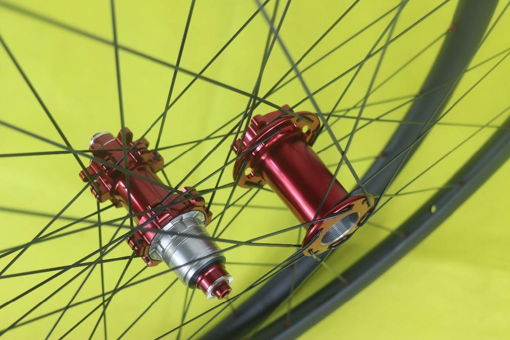 Super Light 1350g MTB XC 29 28mm asymmetric hookless PHB L11 83mm PFH M32 hub for