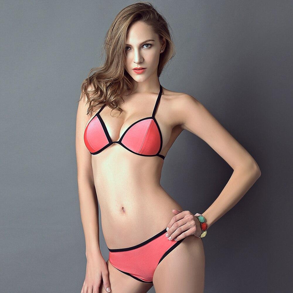b6bad6e6fe Women Brazilian Swimsuit New Women s Bikini Set Swimsuits Padded Swimwear  14 Colors Beachwear