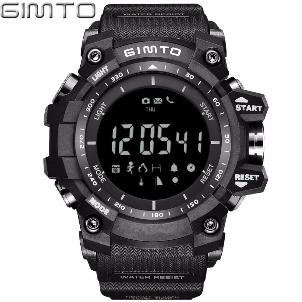 Cool Smart Watch Men Sport Waterproof Military electronic wrist watches Bluetooth Smartwatch
