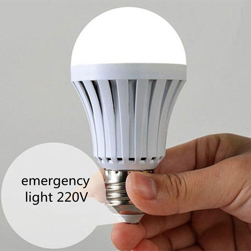 1X Led Notlicht led lampe E27 220 V 5 Watt 7 Watt 9 Watt 12 Watt ...