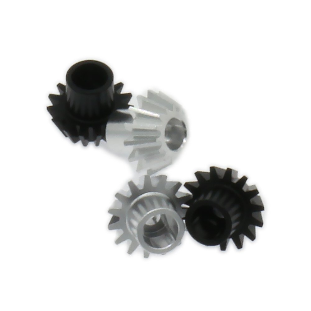 2PCS Differential Pinion Gear For Rc Hobby Model Car 1/18 Wltoys A959 A969 A979 K929 A580072 7075 Top Level Alloy Aluminum front diff gear differential gear for wltoys 12428 12423 1 12 rc car spare parts
