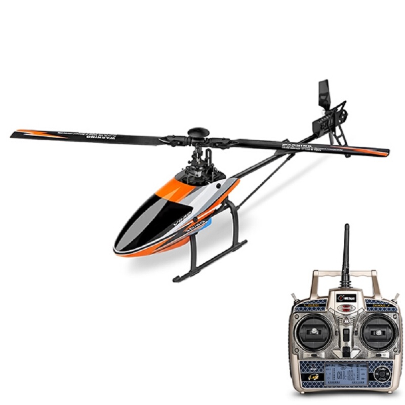 Original WLtoys V950 Big Helicopter with Brushless motor  2.4G 6CH 3D6G System Brushless  Flybarless RC Helicopter RTF remote control charging helicopter