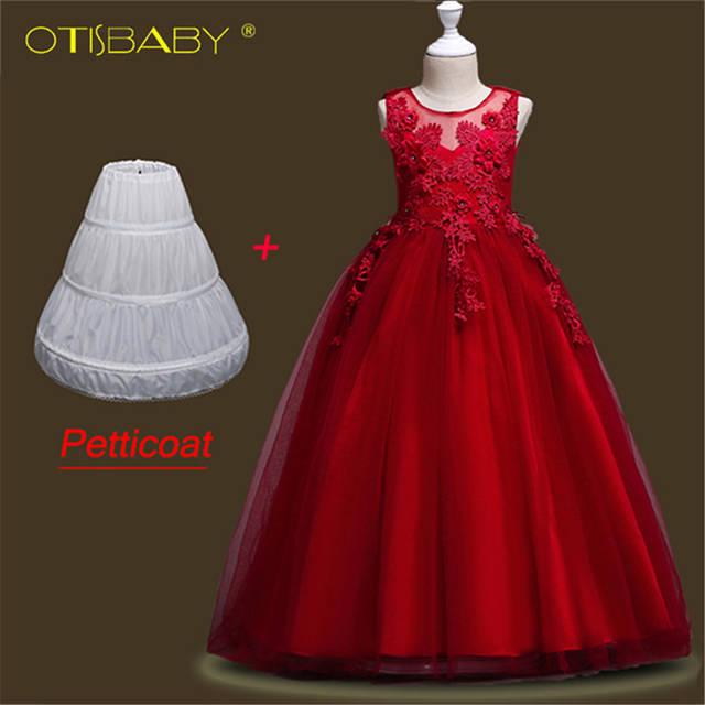 b9e8ced89ac placeholder Butterfly Kids Eleghant Pageant Dress Children Evening Gowns  Lace Sleeveless Ball Gown Flower Girls Dresses For