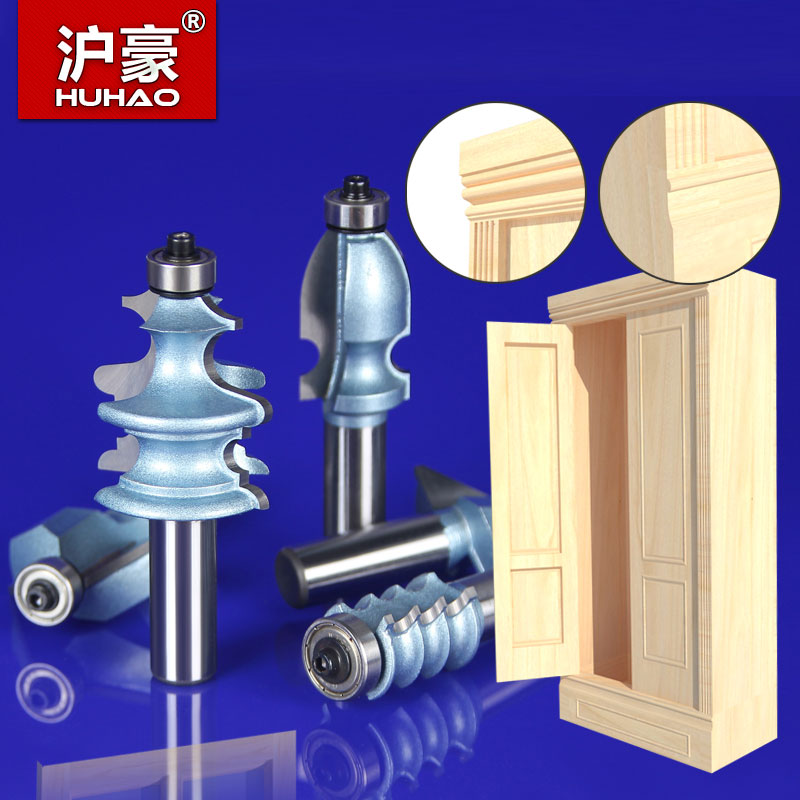 5PCS/SET Woodworking Tools Router Bit Table Edge Bit CNC Door Knife Wood Processing 1/2 SHK - HUHAO бампер edge 2 set abs