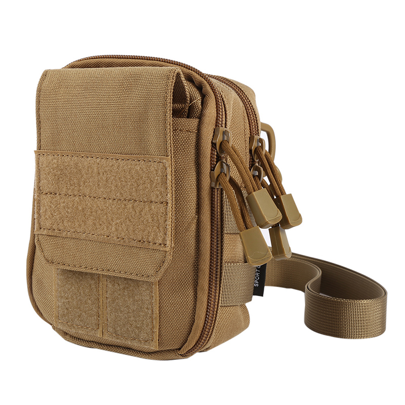 все цены на Military Molle Sport Bag 600D Waterproof Fabric Utility Travel Waist Bag Sling Shoulder Bag Outdoor Pouch онлайн