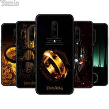 Phone Case for Oneplus 7 7 Pro 6 6T 5T Black Soft TPU Cover Shell for Oneplus 7 7Pro Silicone Case The Lord of the Rings