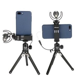 Image 3 - Ulanzi ST 02Sアルミ電話三脚マウント回転垂直水平電話ホルダーwコールド靴iphone × 8 7 プラス