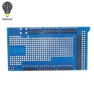 Image 3 - Плата разработки WAVGAT MEGA 2560 R3 Proto для прототипов, плата расширения V3.0 + макетная мини плата PCB на 170 точек связи для arduino «сделай сам»