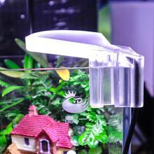 Водонепроницаемый светодиодный светильник для аквариума с зажимом, лампа для выращивания водных растений 5 Вт, 8 Светодиодный светильник для аквариума