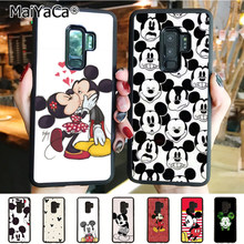 MaiYaCa Kissing Lovers Mickey Minnie Mouse Luxury Hybrid phone case for Samsung Galaxy S10 Plus S10E Lite s6 s7 s8plus s9plus(China)