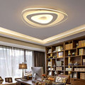 Led acrylic ceiling light in the bedroom modern minimalist living room lights the balcony aisle lights round top Lamps lighting