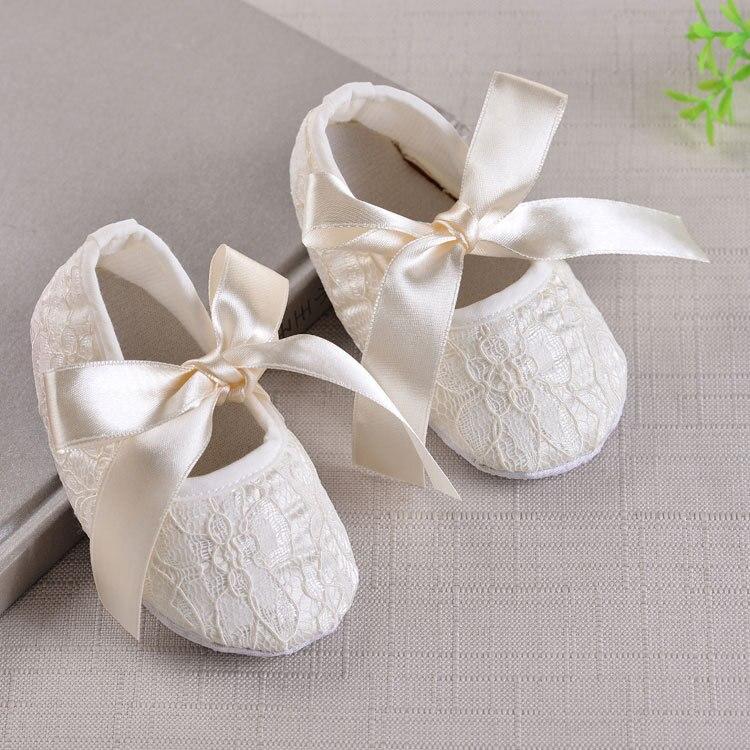 Rudens minkštųjų kūdikių mergaičių batų mieli batai krikštynų krikščionių batai
