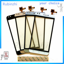 RUBINZHI Touch Screen Panel Sensor Front Glass For Prestigio Muze C3 PSP3504Duo PSP3504 Duo Touchscreen Digitizer 3m tape шарф herman
