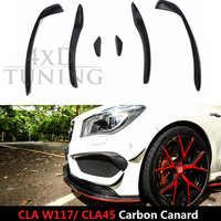 For Mercedes GT Style CLA CLFor Mercedes W117 CLA Class W117 CLA250 CLA260 CLA45 AMG Carbon