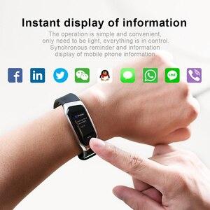 Image 5 - 2020 DEMOR KB08 חכם צמיד כושר פעילות להקת דם לחץ קצב לב צג צמיד עבור אנדרואיד גברים נשים Smartband