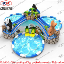 Water Slide Inflatables, Inflatable Water Park Playground, Inflatable Commercial Pool Water Park