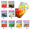 8 Colors 10bag/lot Pearl shaped Crystal Soil Water Beads Mud Grow Magic Jelly Balls Wedding Home Decoration