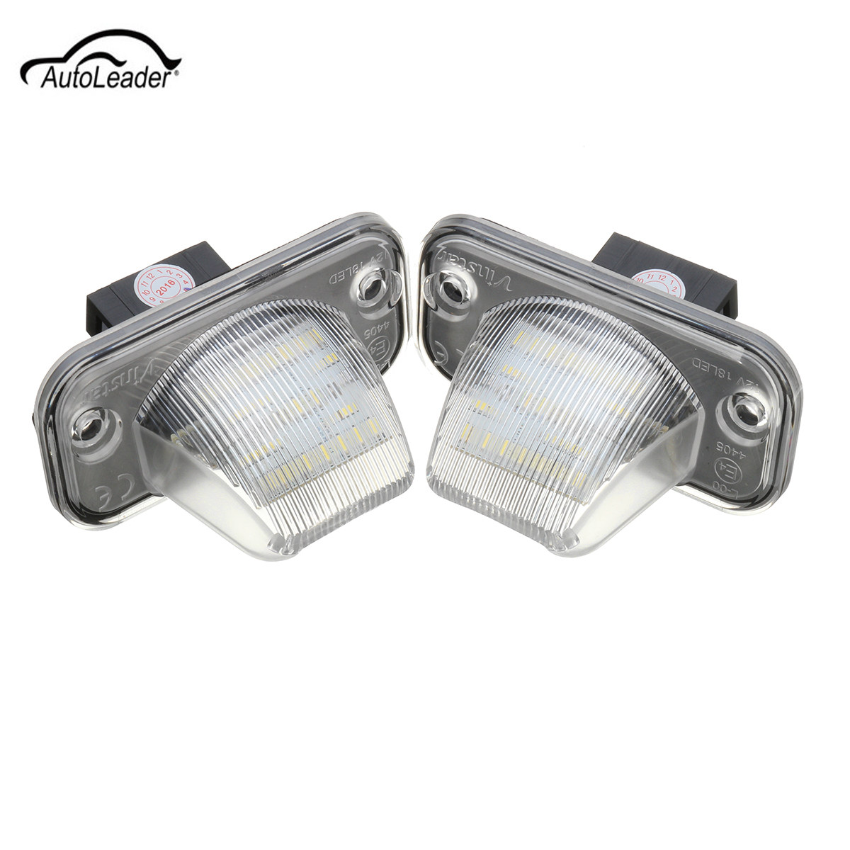 2Pcs 18 LED Car License Plate Light Error Free Number Plate Lamp For Volkswagen/VW/T4/Transporter/Passat  2x error free led license plate light for volkswagen vw passat 5d passat r36 08