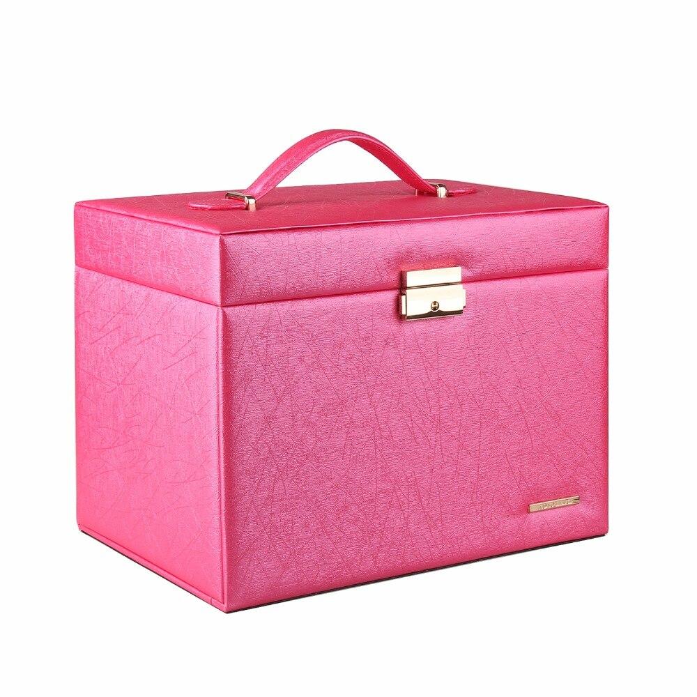 Large Luxury Quality Jewelry Watch Boxes Jewellery Storage Case Gift Box