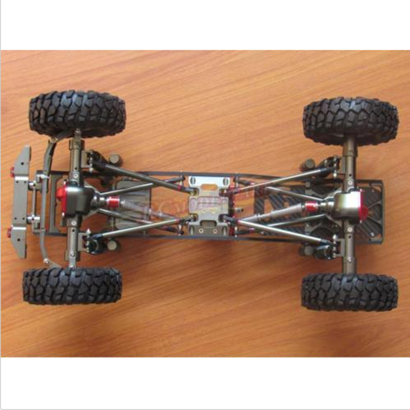 Alloy RC SCX10 1/10 Scale 4WD Rock Crawler Chassis Frame Kit Assembled