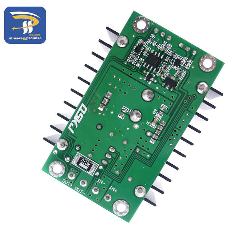 Unité électrique haute qualité C-D C CC CV Buck convertisseur abaisseur Module d'alimentation 7-32V à 0.8-28V 12A 300W XL4016